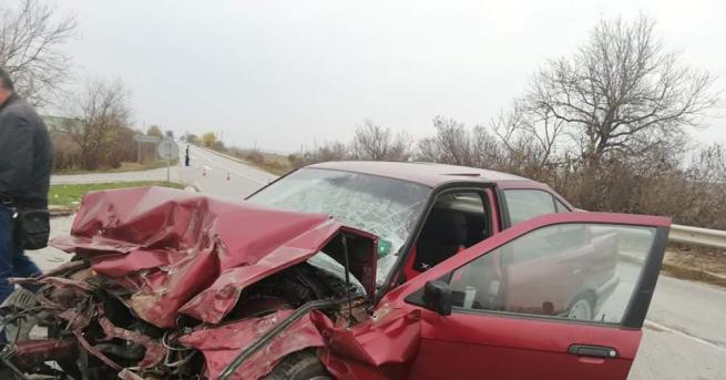 21-годишна жена, която бе в най-тежко състояние след пътен инцидент