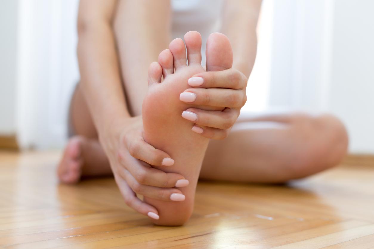 <p>Изтръпване на ръцете или краката</p>