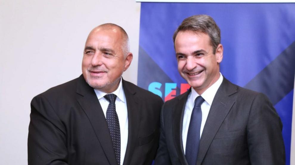 Борисов разговаря с Мицотакис на срещата на върха (ВИДЕО)