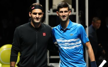 НА ЖИВО: Федерер взема първия сет