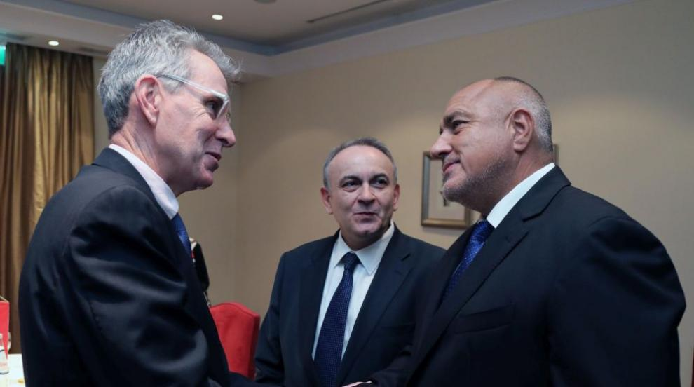 Борисов обсъди газовите доставки с посланика на САЩ в Гърция