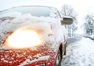 Снежна буря Испания
