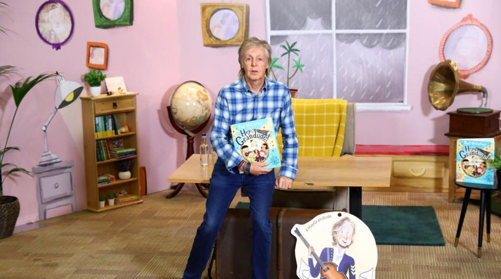Детската книжка на Пол Маккартни излиза на български език (СНИМКИ)