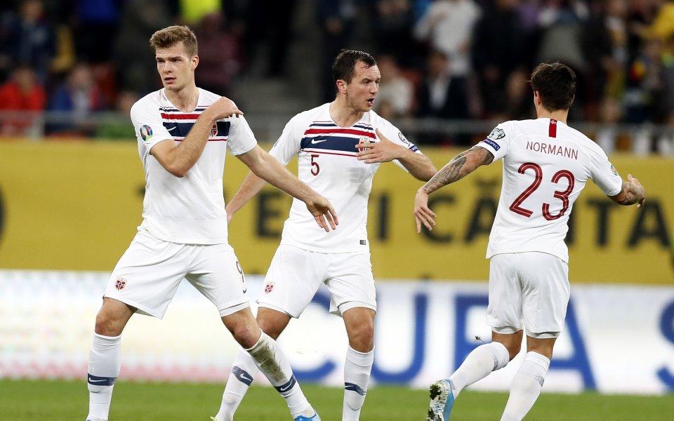 Отборът на Норвегия се наложи с 4:0 над Фарьорските острови,
