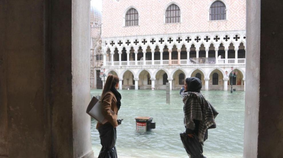 70% от Венеция отново е под вода (ВИДЕО)