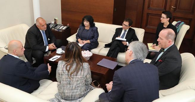 Министър-председателят Бойко Борисов се е срещнал с помощник-държавния секретар на