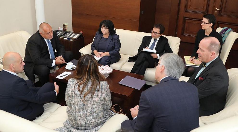 Борисов се е срещнал с помощник-държавния секретар на САЩ Кристофър Форд
