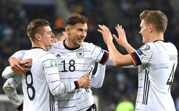 Безапелационна Германия отвя Беларус и е на еврофиналите