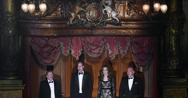 Херцозите на Кеймбридж присъстваха на ежегодното кралско благотворително събитие Royal