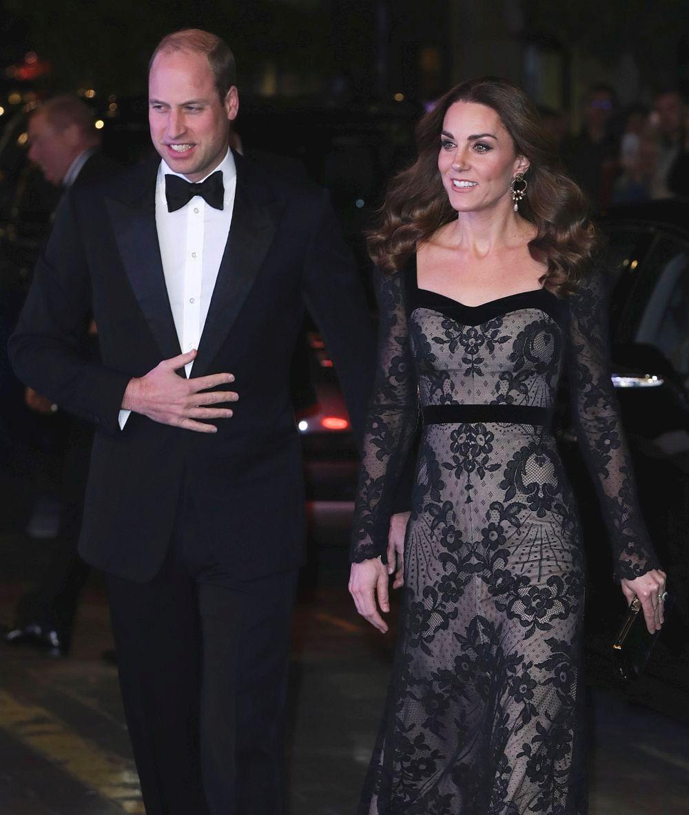 Херцозите на Кеймбридж принц Уилям и Катрин