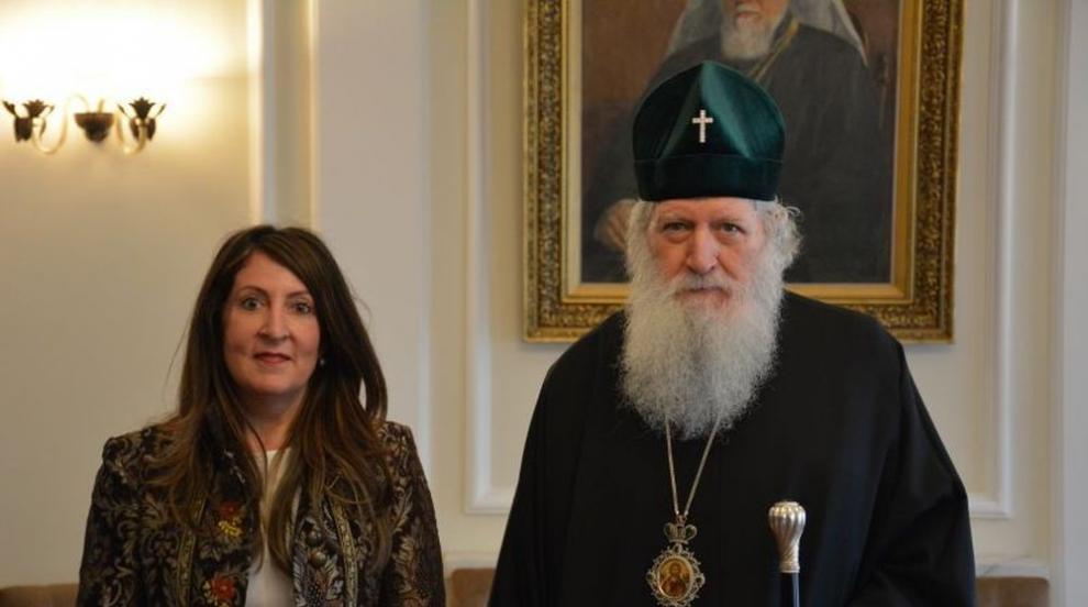 Патриарх Неофит се срещна с посланика на САЩ Херо Мустафа