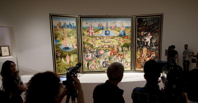 """Световноизвестният мадридски музей """"Прадо"""", който притежава една от най-забележителните колекции"""
