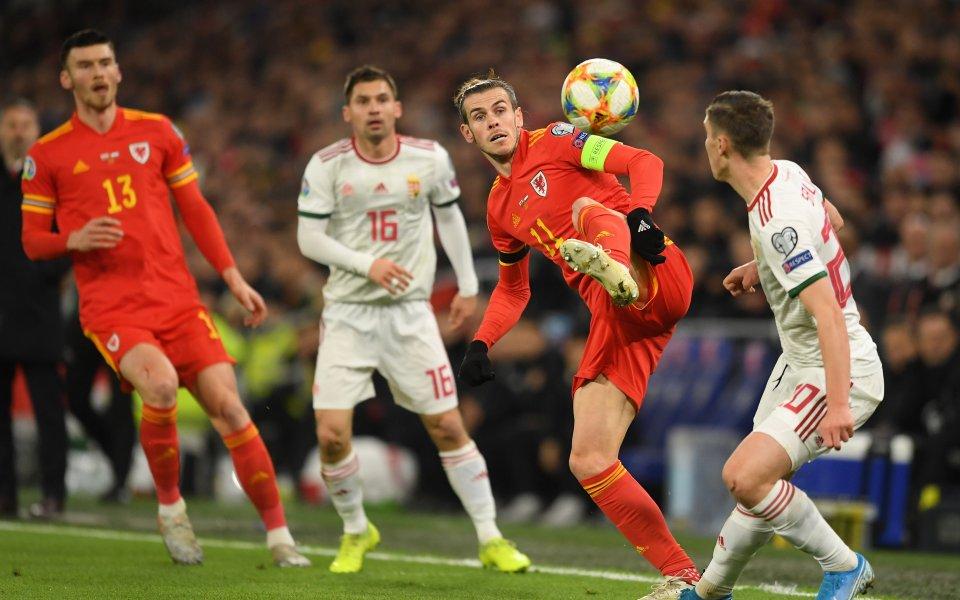 Отборите на Уелс и Унгария играят при резултат 1:0, вдиректен