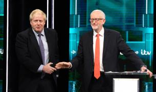 Сблъсък първи: Борис Джонсън vs. Джереми Корбин