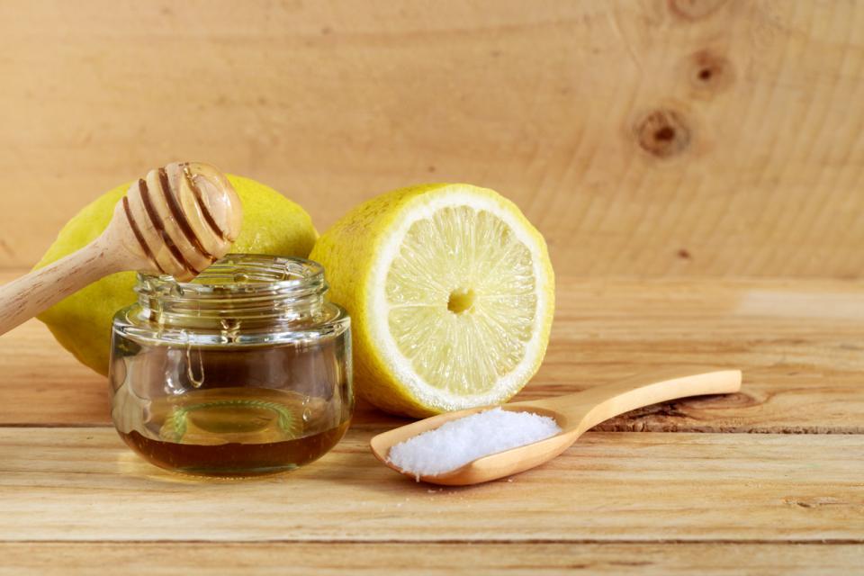 мед лимон хималайска сол