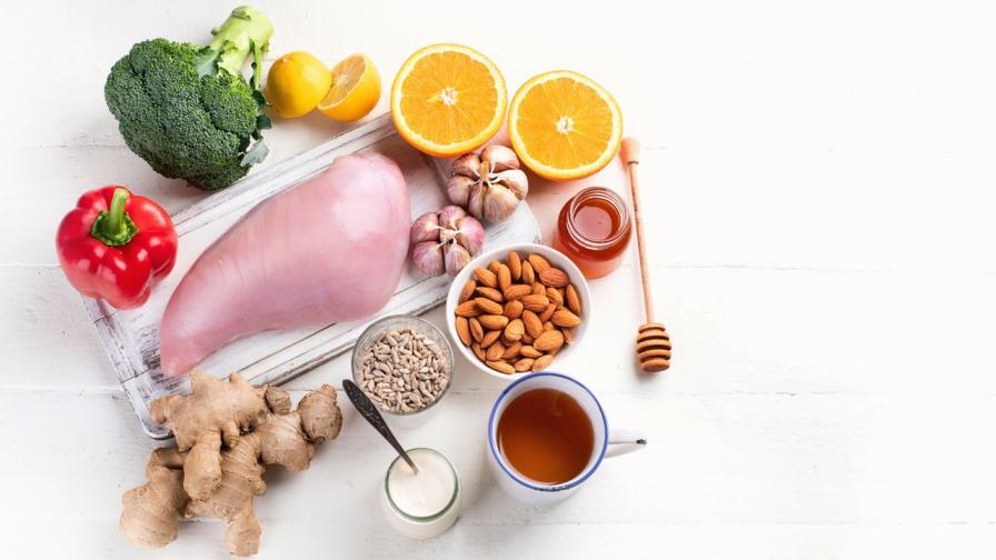 <p>Най-добрите <strong>храни </strong>за засилване на <strong>имунната система</strong></p>