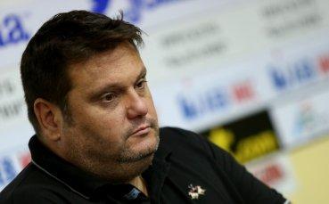 Мартин Стоев: Не е редно преди Олимпиада да има такива дрязги