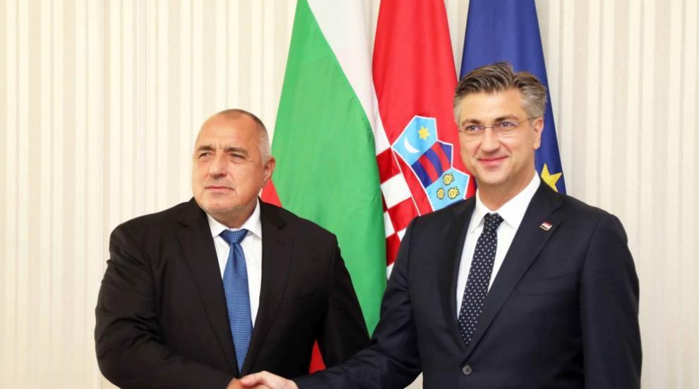Борисов консултира хърватския премиер за европредседателството...