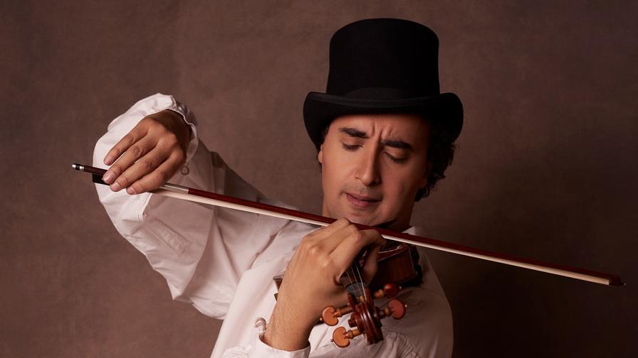 <p>Марио Хосен: С личността на Паганини ме свързва кауза и съдба</p>