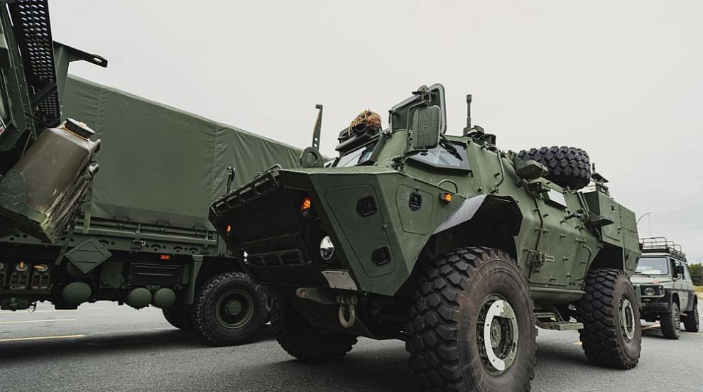 Литва ще закупи за армията си 200 бронирани машини от САЩ