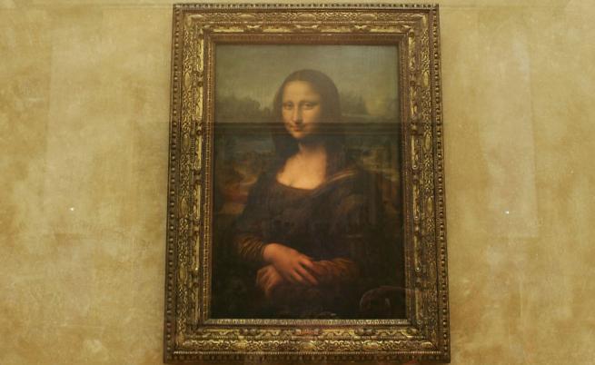 """""""Мона Лиза"""" на Леонардо да Винчи"""