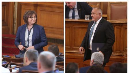 Лидерски двубой в НС: Борисов и Нинова в сблъсък за самолети, Шенген и ос ...
