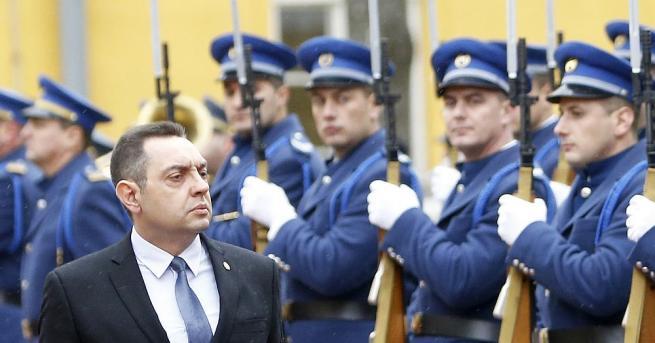 Сръбският министър на отбраната Александър Вулин отправи тежки обиди към