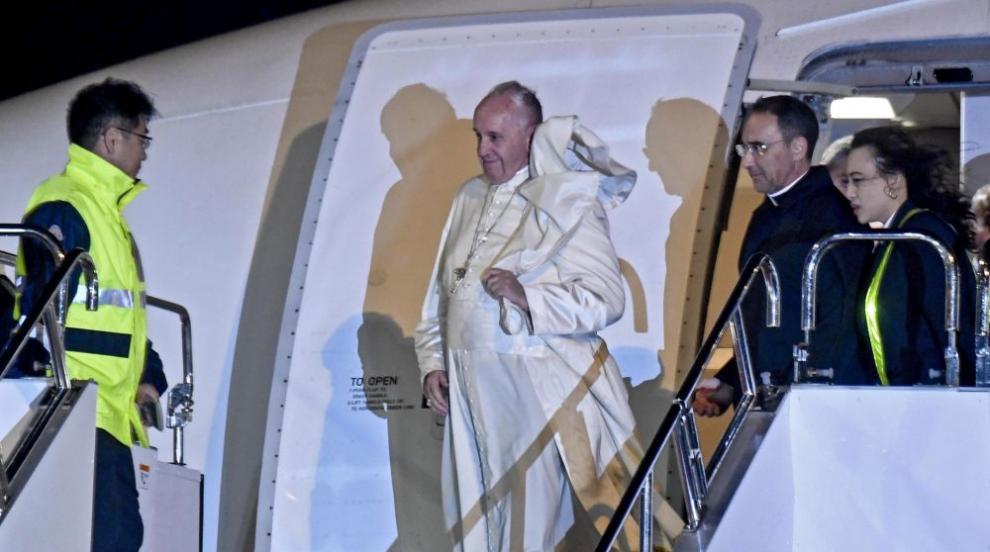 Папа Франциск с апел от Токио за пълно ядрено обезоръжаване