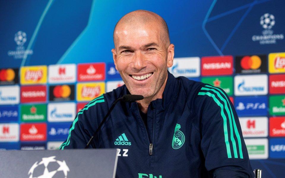 Босът на Реал Мадрид: Зидан е благословия от небето