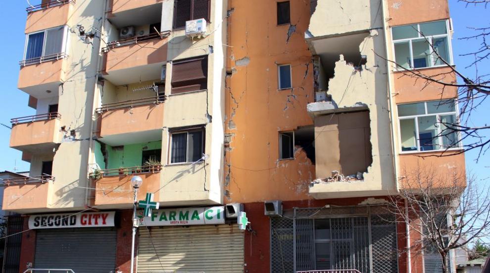 Поредно силно земетресение в Албания
