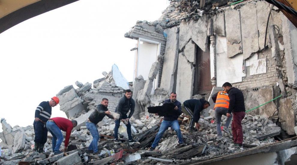 20 вече са жертвите на земетресението в Албания