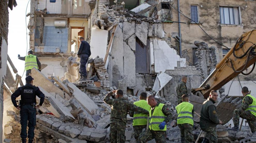Даваме 200 000 лева хуманитарна помощ на Албания след земетресението