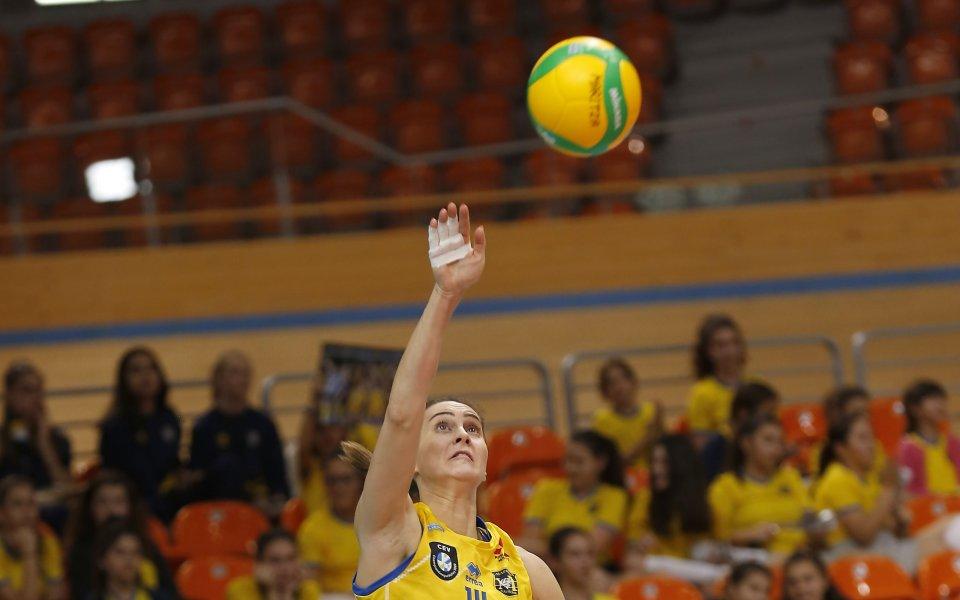 Марица мина лесно и през ЦСКА за 14-та си победа в НВЛ