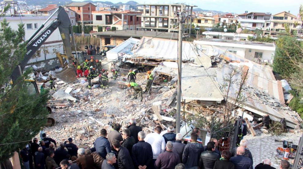 Ново земетресение в Албания: 5.1 по Рихтер удари страната
