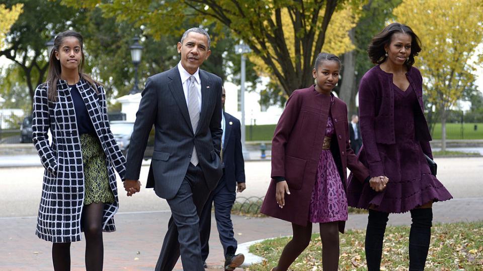 Мишел Барак Обама деца