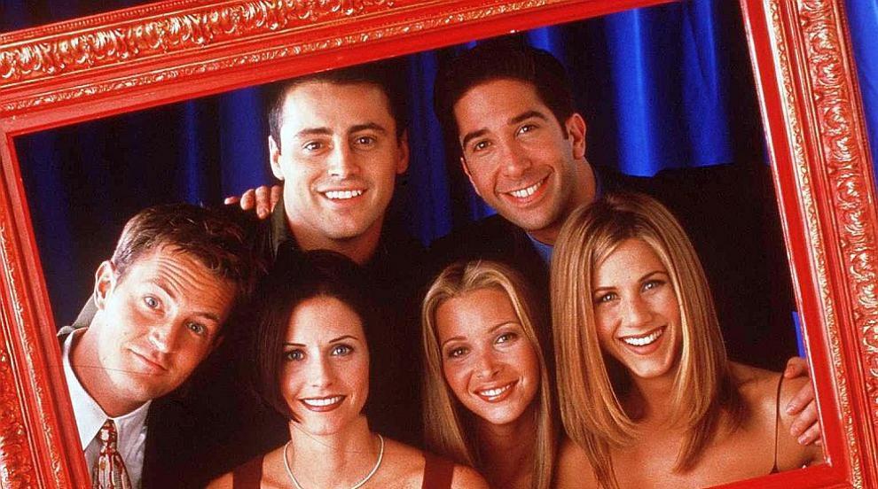 """""""Приятели"""" се събраха в дома на Дженифър Анистън..."""