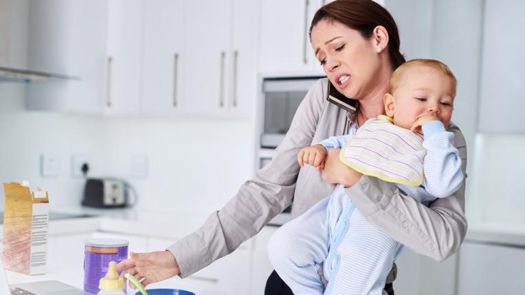 Една от много: майка без време за себе си