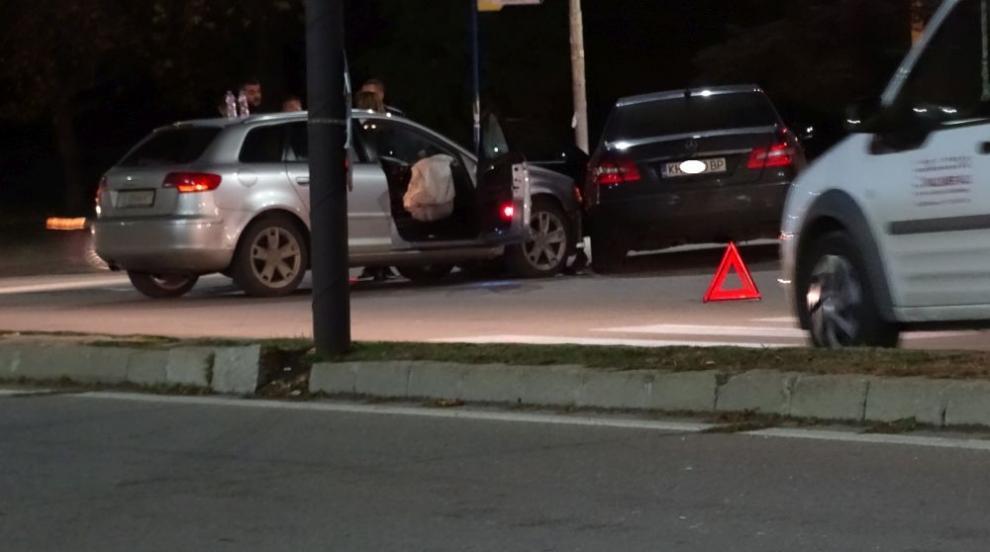 Катастрофа на кръстовище в Благоевград