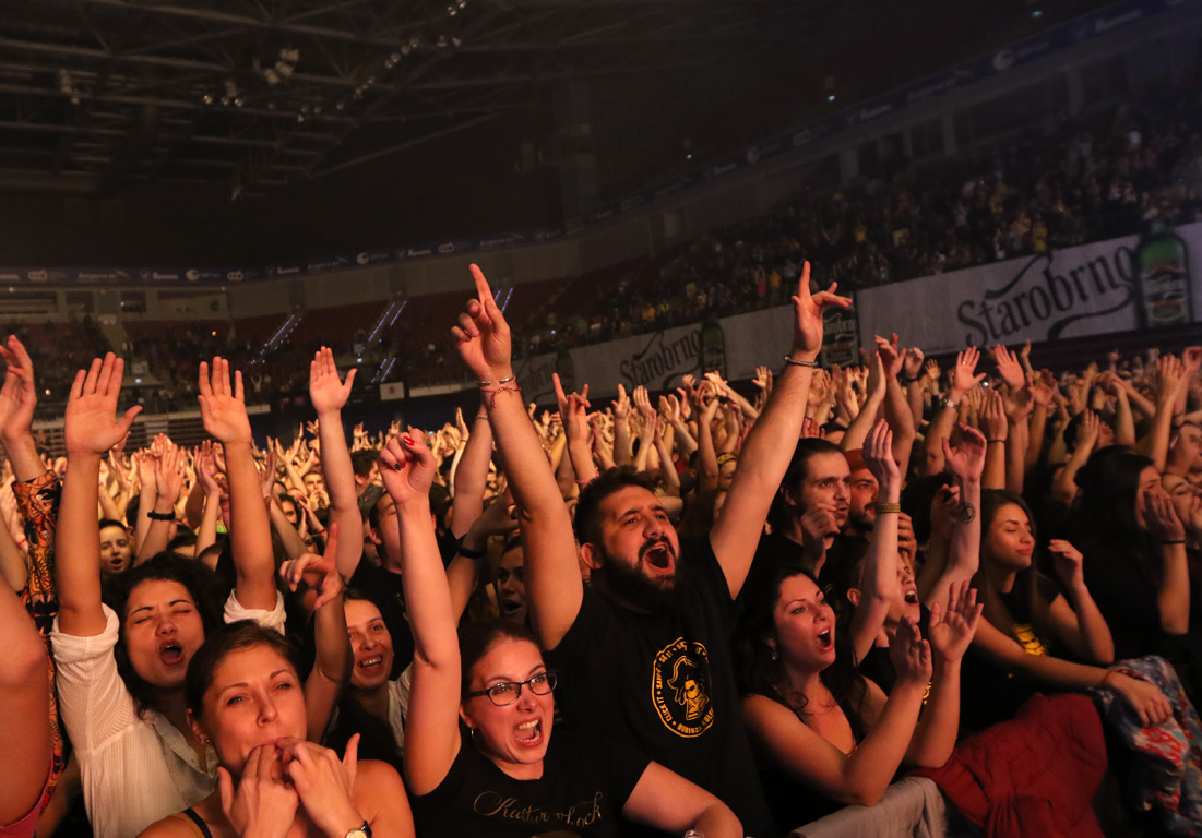 <p>Една от най-популярните и обичани групи на Балканите с концерт в Арена Армеец</p>