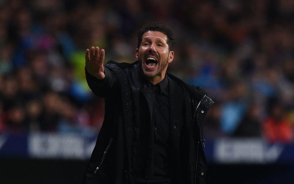 Симеоне: Атлетико е в преходен сезон, разберете го