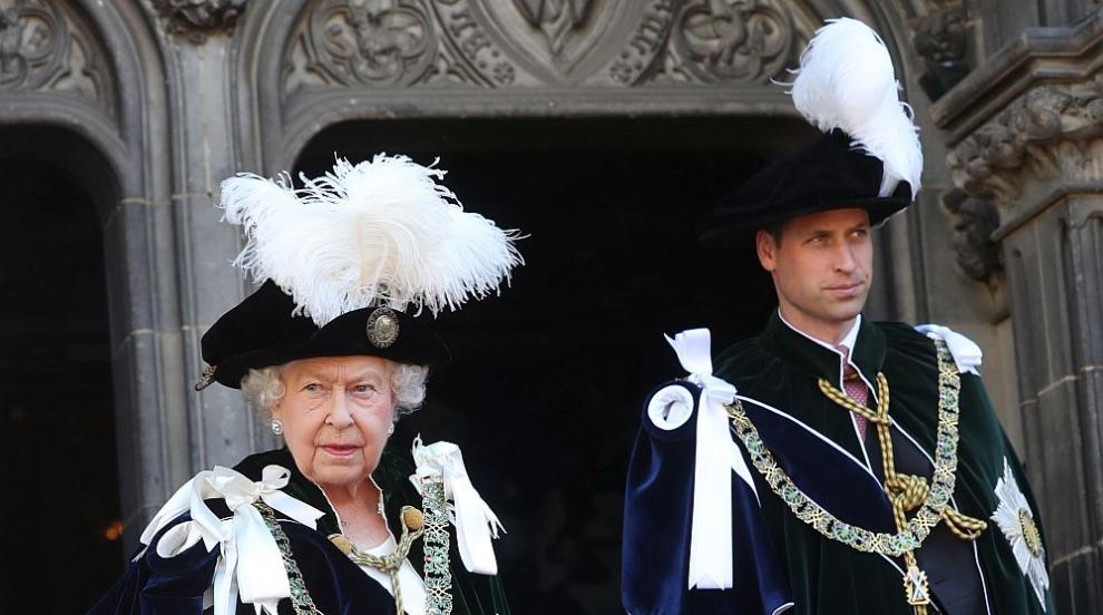 Принц Уилям похвали Елизабет Втора