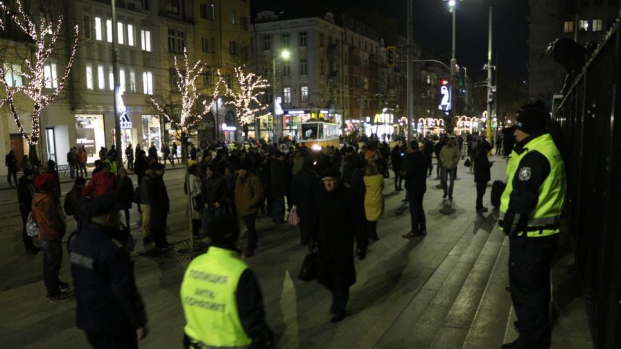 Протест срещу избора на Гешев и номинацията на Цацаров