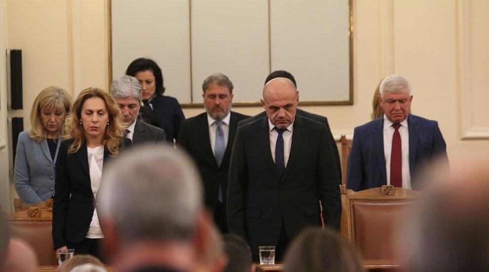 Парламентът почете с минута мълчание проф. Любен Корнезов