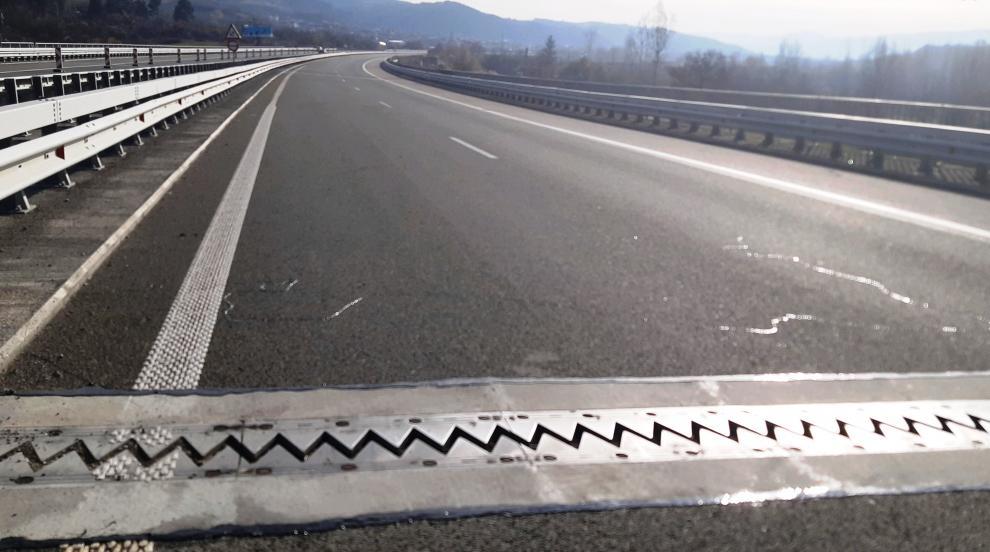 """Завърши ремонтът на моста над р. Джерман при 62-ри км на АМ """"Струма"""""""