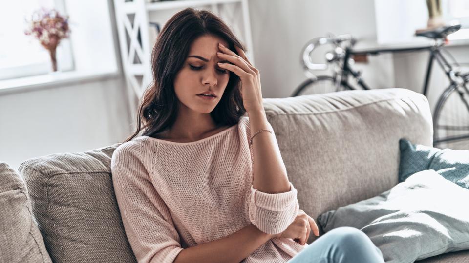 жена слабост болест тъга