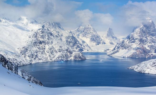 Езеро се изпразни за няколко часа в Гренландия