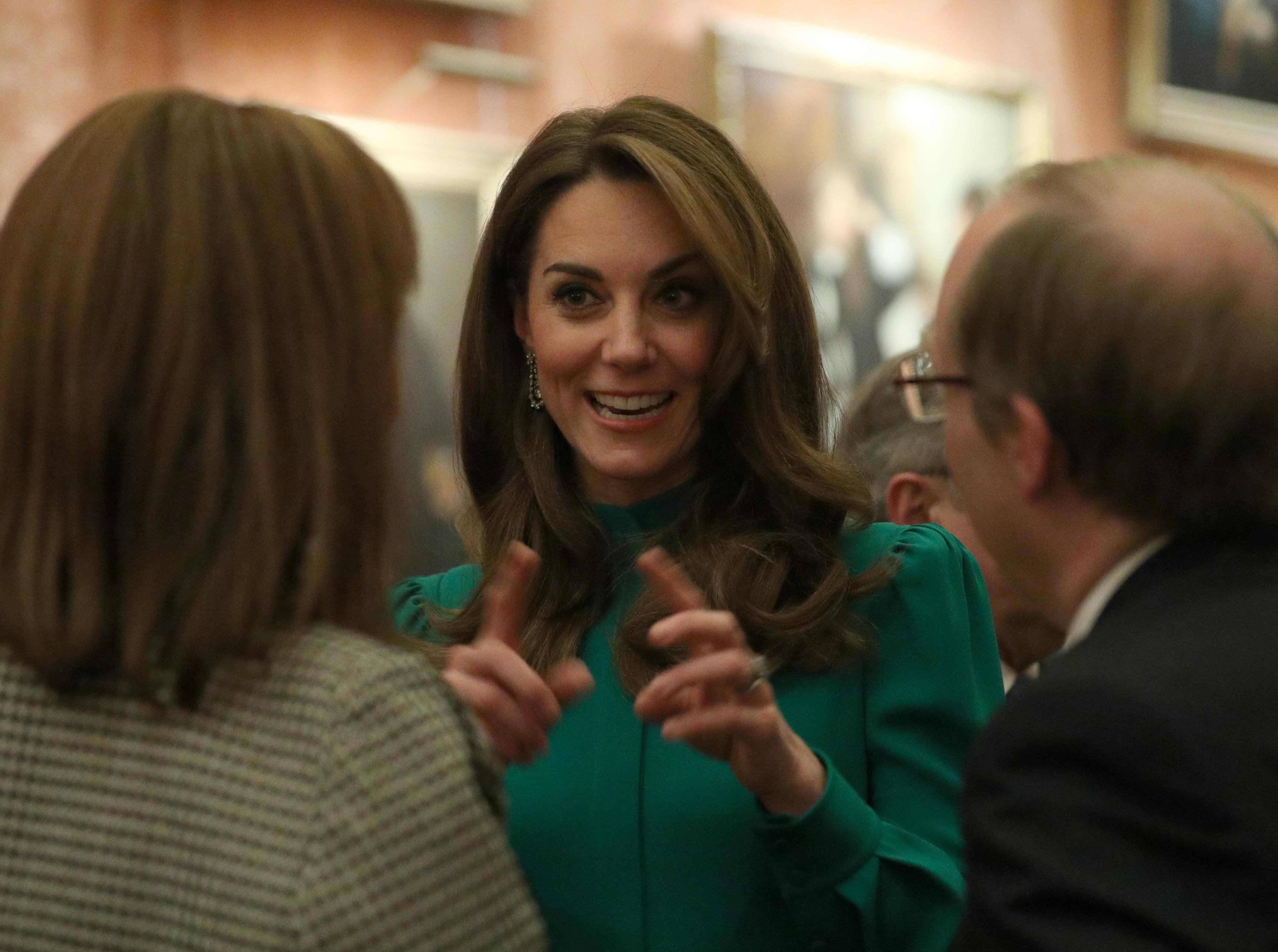 <p>Съпругата на принц Уилям - Кейт Мидълтън</p>