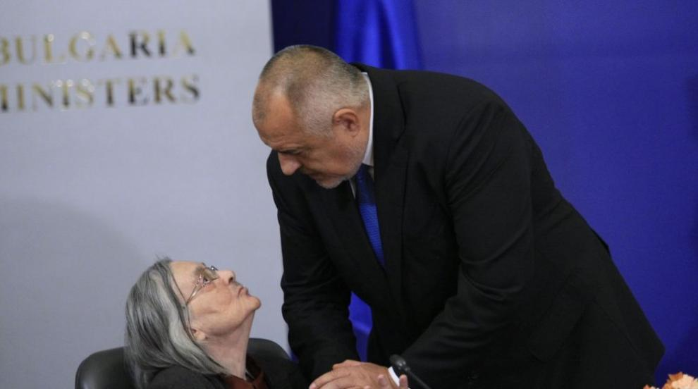 Премиерът награди с високо държавно отличие проф. Димитрина Гюрова (СНИМКИ)