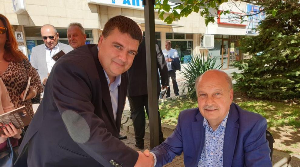 Георги Марков идва в Кюстендил за беседа и премиера на книгата си