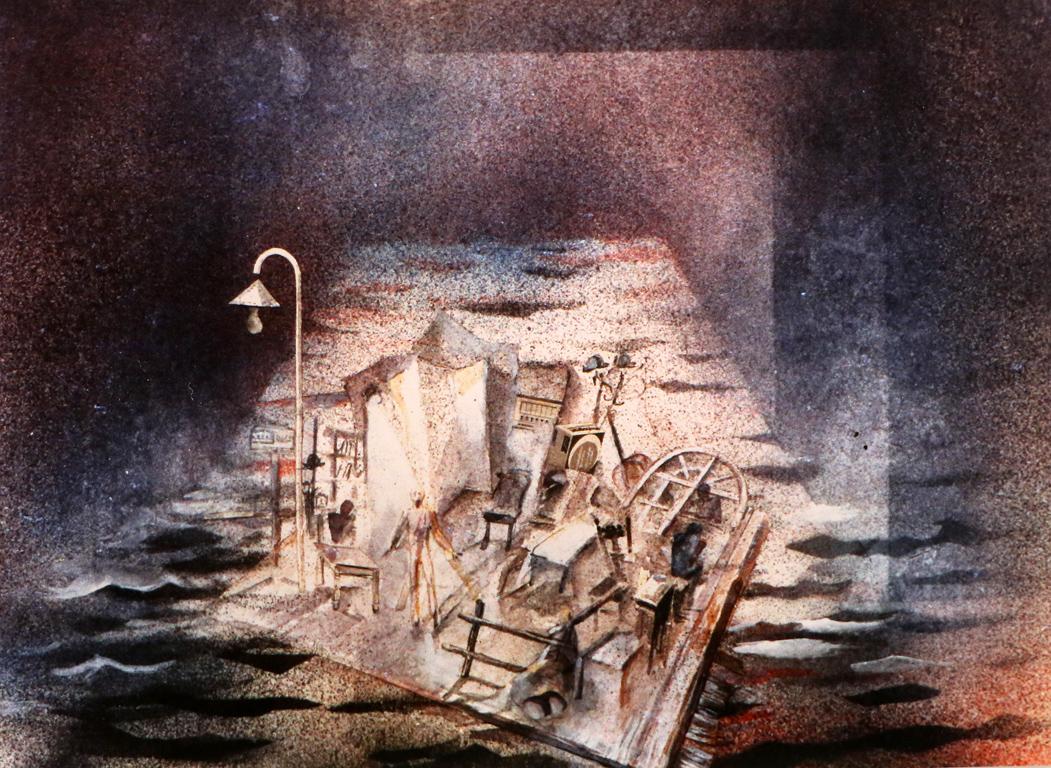 <p>&bdquo;Еквус&ldquo; от Питър Шафър, реж. Симеон Димитров &ndash; сценография</p>